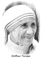 mother teresa personality